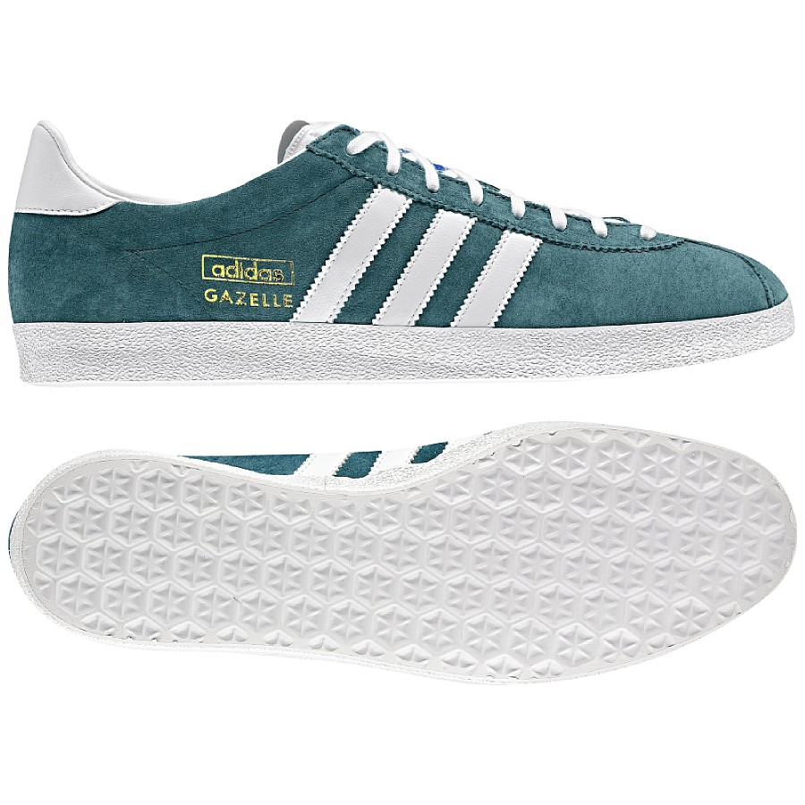 adidas originals gazelle og beige blau herren schuhe. Black Bedroom Furniture Sets. Home Design Ideas