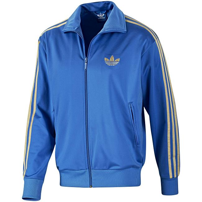 Adidas jacke firebird blau