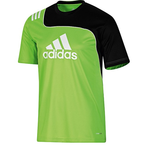 adidas sereno 11 training jersey gr n herren t shirt. Black Bedroom Furniture Sets. Home Design Ideas