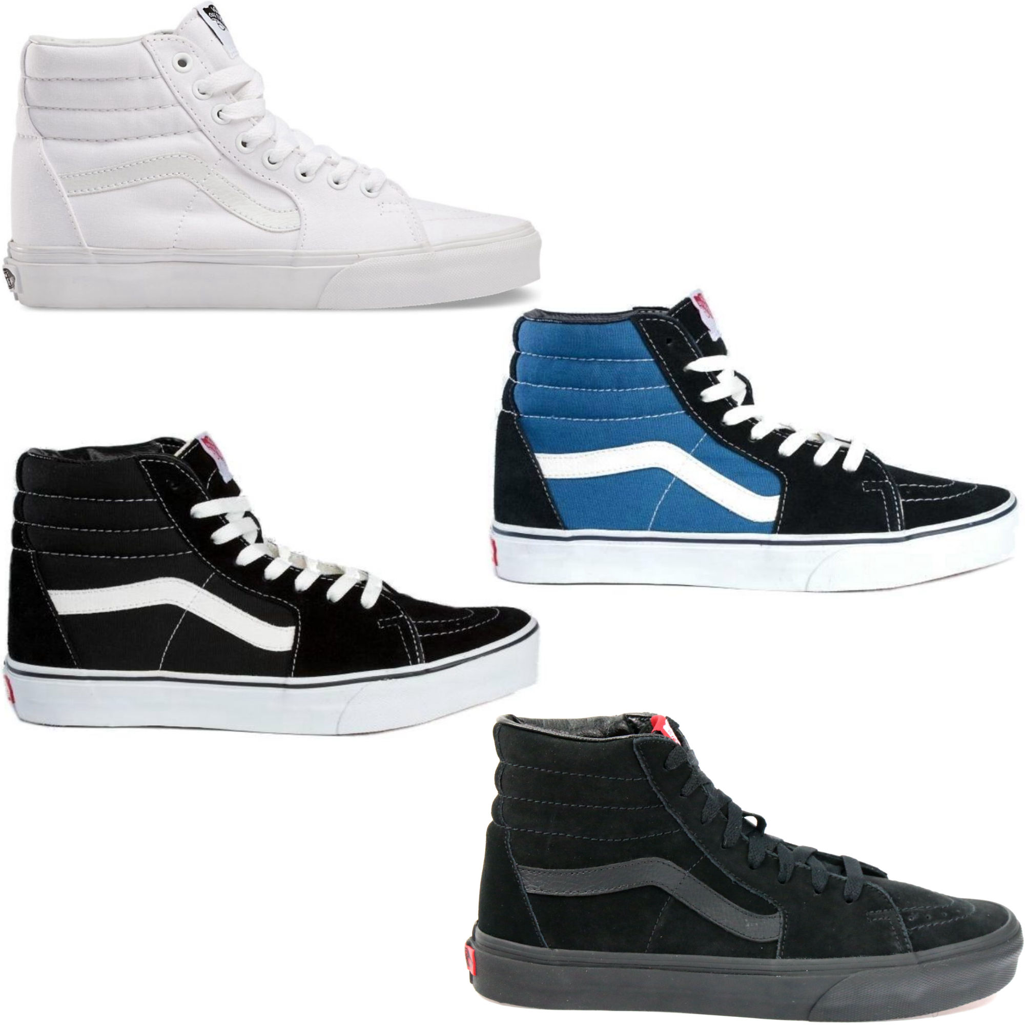 vans sk8 hi sneaker schuhe herren damen ebay. Black Bedroom Furniture Sets. Home Design Ideas
