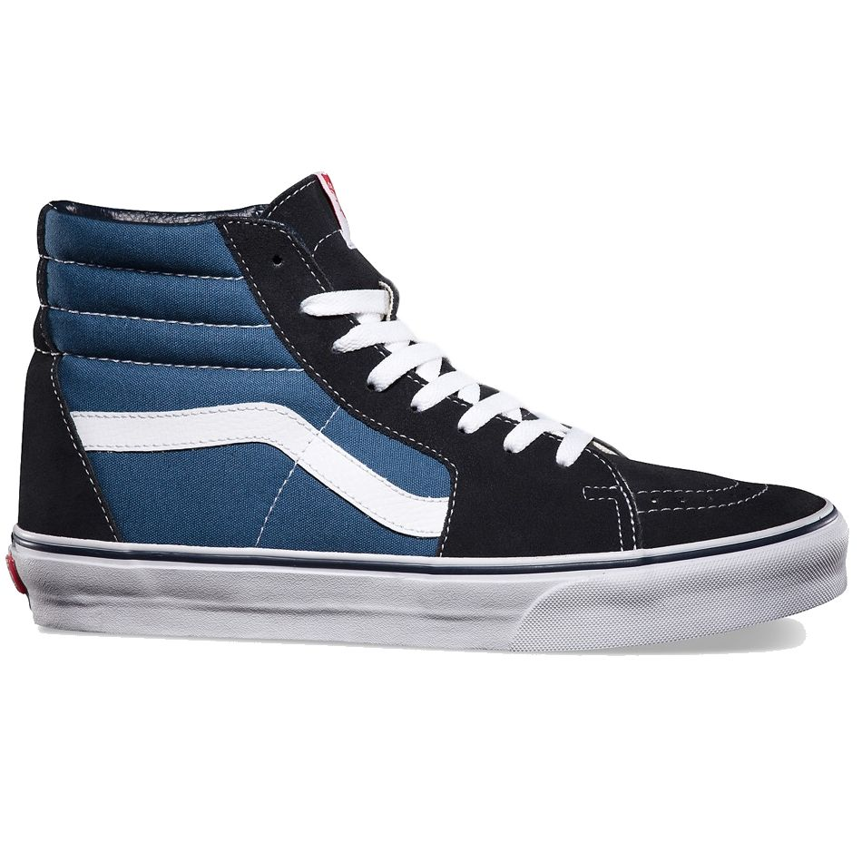 vans sk8 hi navy schuhe turnschuhe high top sneaker damen. Black Bedroom Furniture Sets. Home Design Ideas