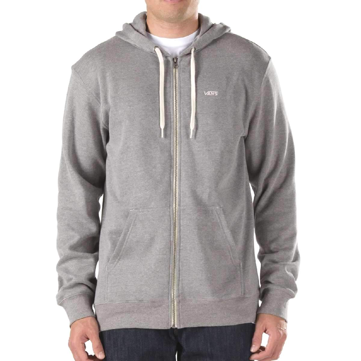 vans core basic zip hoodie ii herren jacke kapuzenjacke sweatjacke ebay. Black Bedroom Furniture Sets. Home Design Ideas