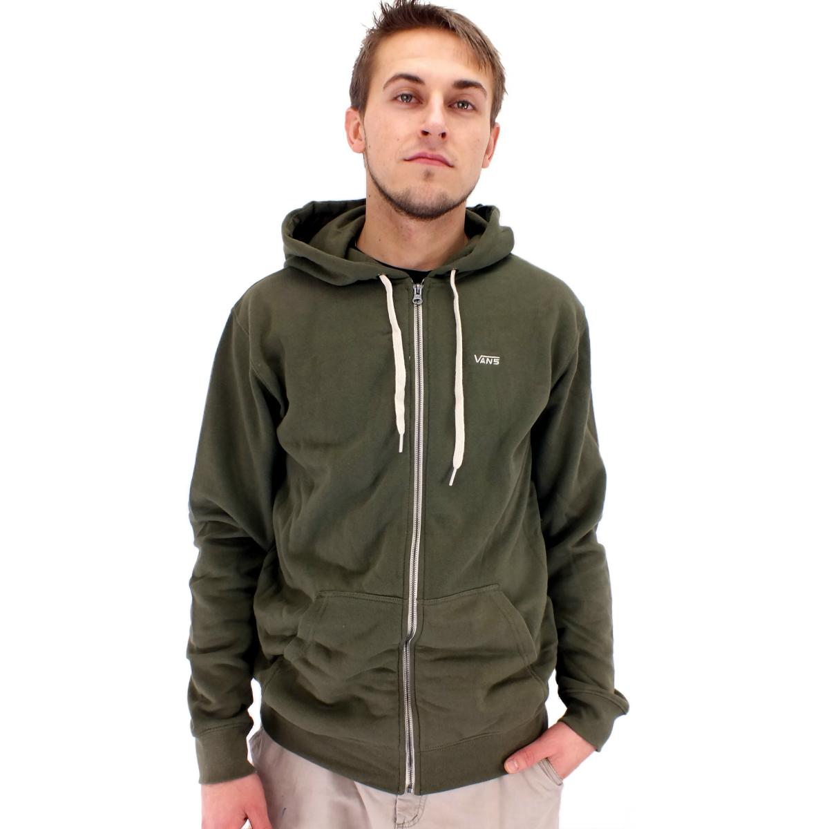 vans core basic zip hoodie herren jacke kapuzenjacke sweatshirt diverse farben. Black Bedroom Furniture Sets. Home Design Ideas