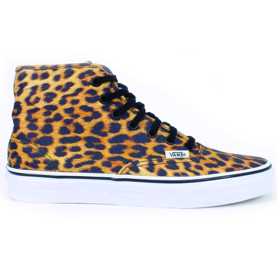 vans authentic hi leopard denim damen schuhe sneaker high. Black Bedroom Furniture Sets. Home Design Ideas