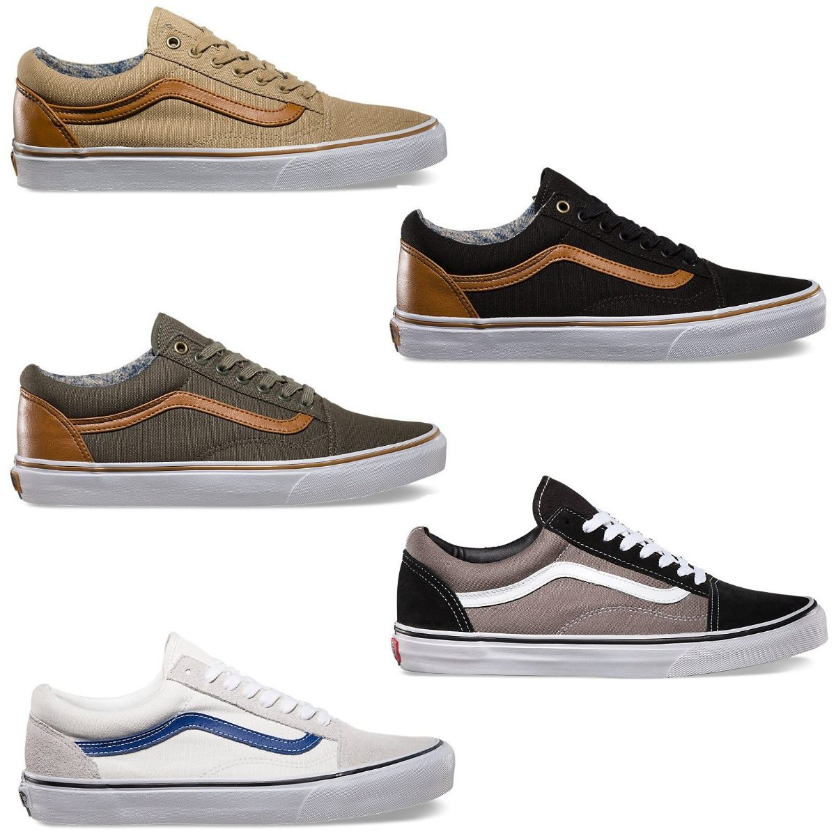 old skool vans braun