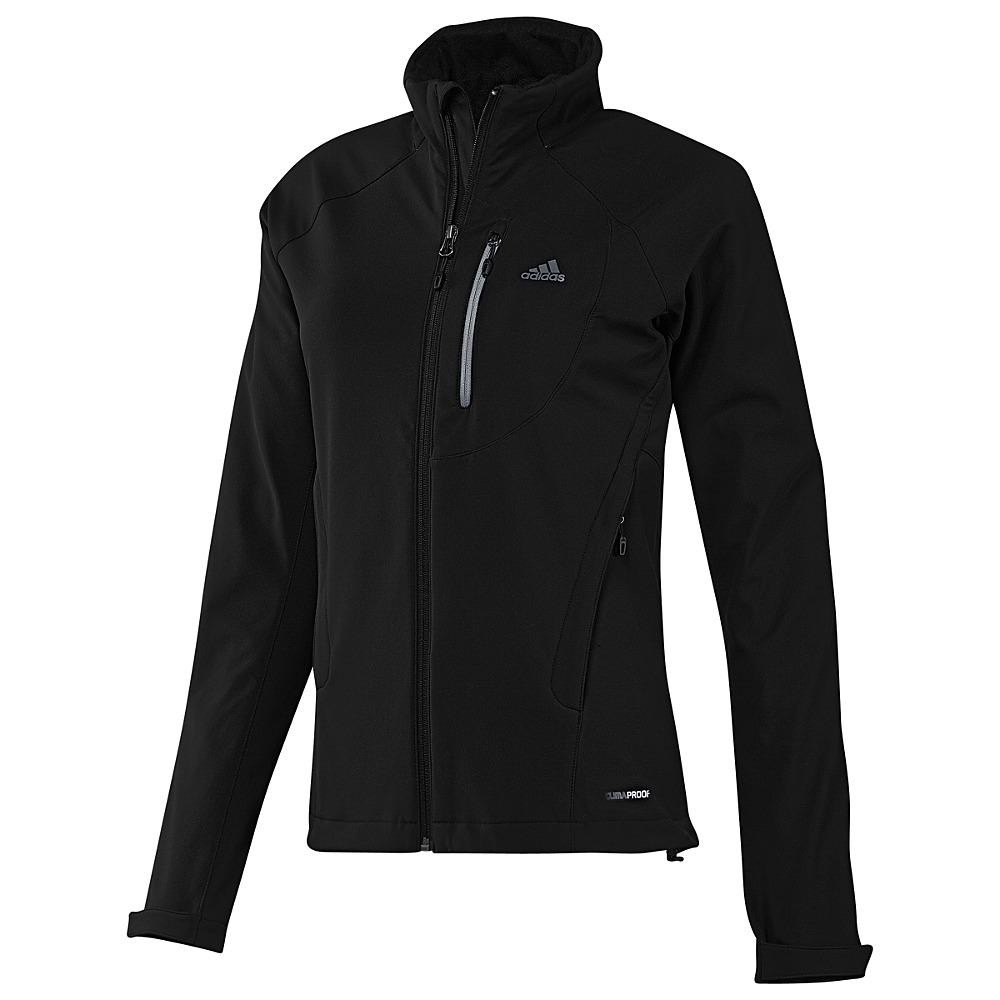 about adidas hiking soft shell jacket damen softshell jacke schwarz. Black Bedroom Furniture Sets. Home Design Ideas