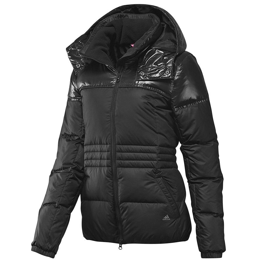 adidas classic down jacket black damen winterjacke. Black Bedroom Furniture Sets. Home Design Ideas
