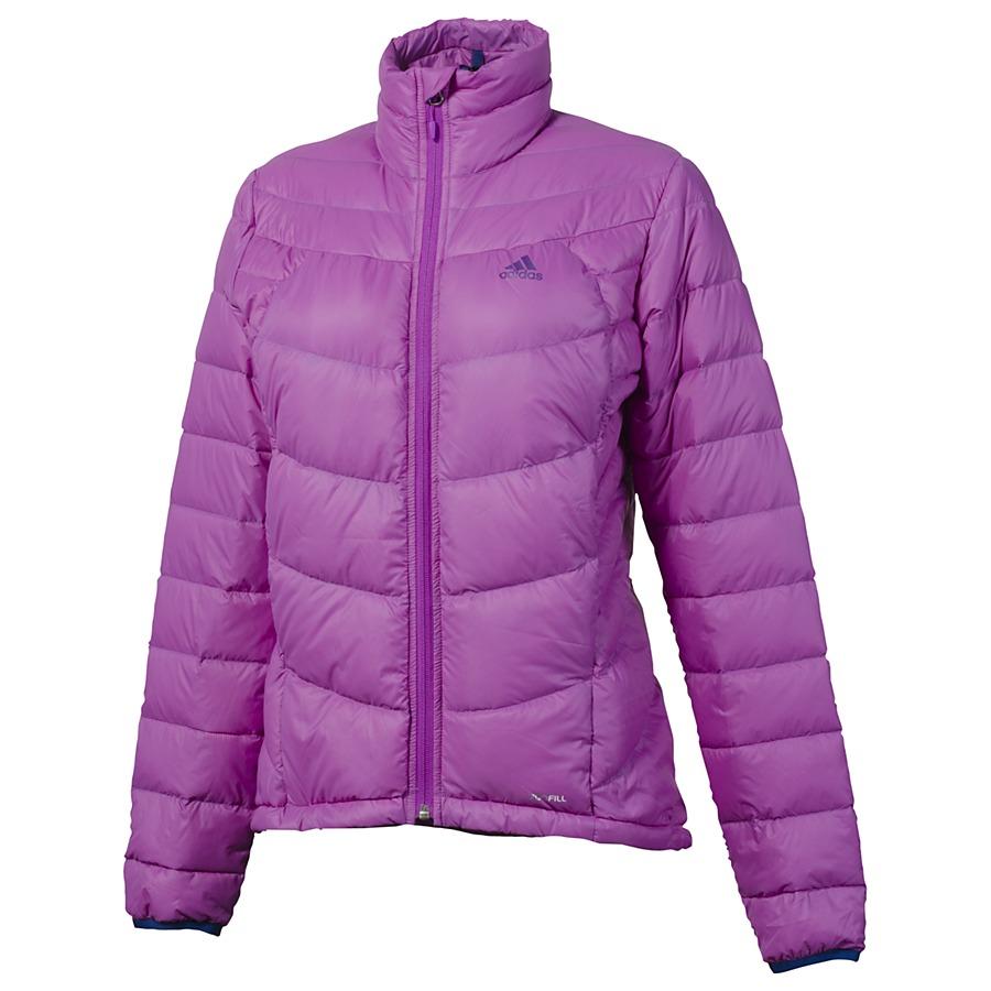 adidas hiking light down jacket jacke daunenjacke winterjacke damen blau lila ebay. Black Bedroom Furniture Sets. Home Design Ideas