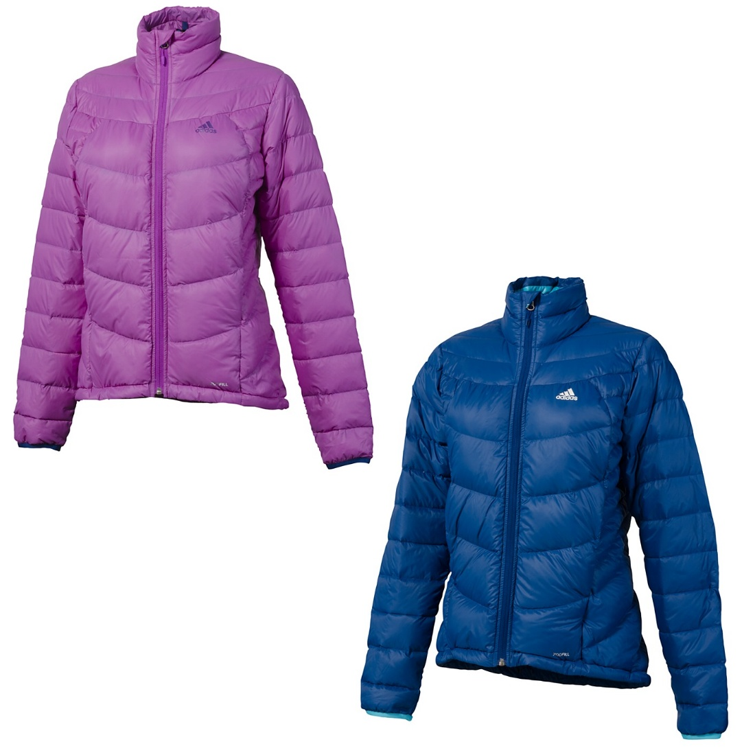 adidas hiking light down jacket jacke daunenjacke winterjacke damen blau lila ebay. Black Bedroom Furniture Sets. Home Design Ideas