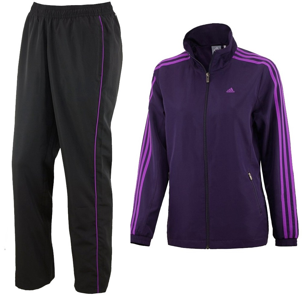 adidas essentials 3s woven suit trainingsanzug. Black Bedroom Furniture Sets. Home Design Ideas