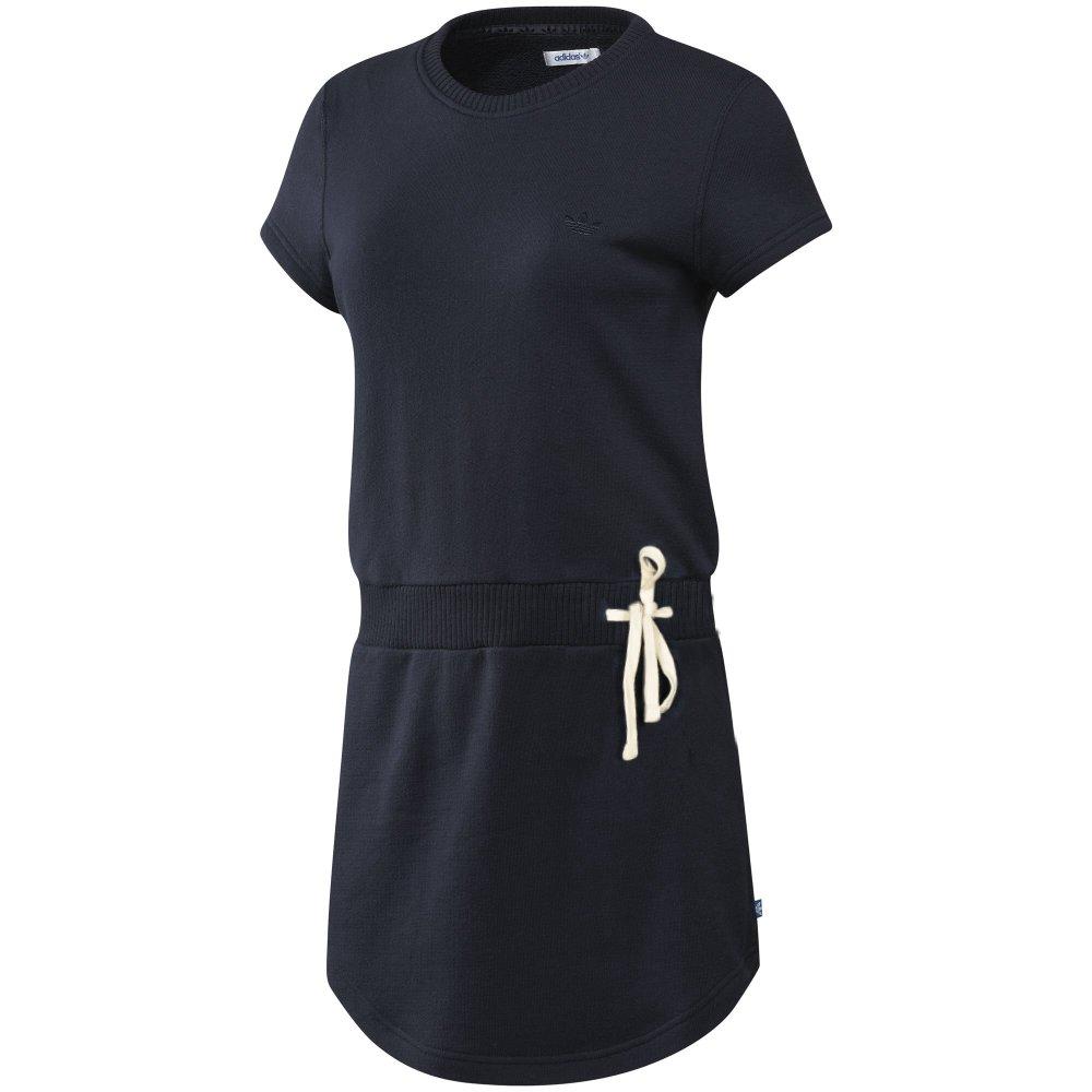 adidas originals vintage french terry dress tee kleid. Black Bedroom Furniture Sets. Home Design Ideas