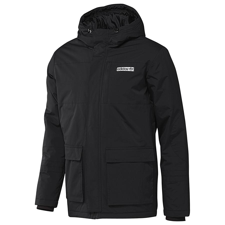 adidas originals nylon warmer jacket black herren jacke. Black Bedroom Furniture Sets. Home Design Ideas