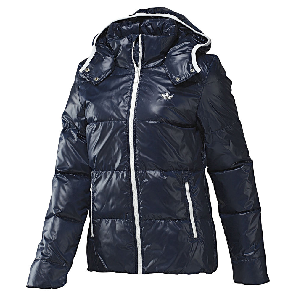 adidas originals down jacket blau damen daunenjacke. Black Bedroom Furniture Sets. Home Design Ideas