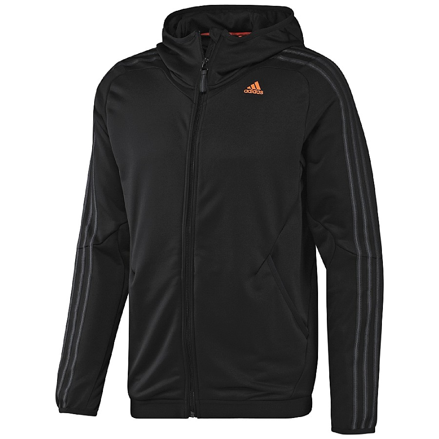 adidas clima365 full zip hoodie jacke sportjacke. Black Bedroom Furniture Sets. Home Design Ideas