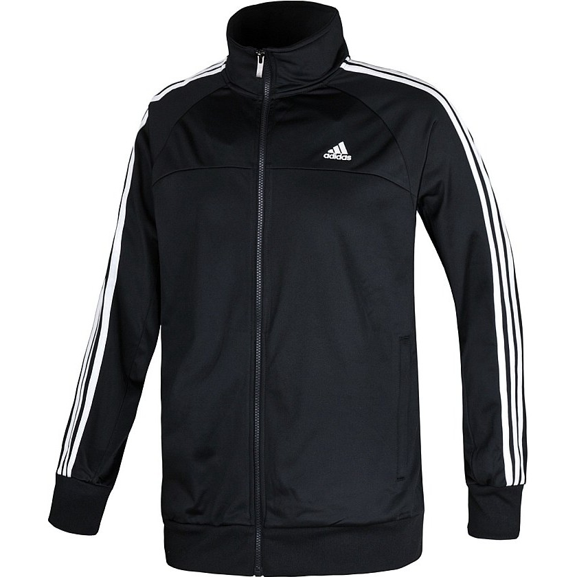 adidas ess 3s pes tracktop schwarz herren jacke trainingsjacke. Black Bedroom Furniture Sets. Home Design Ideas