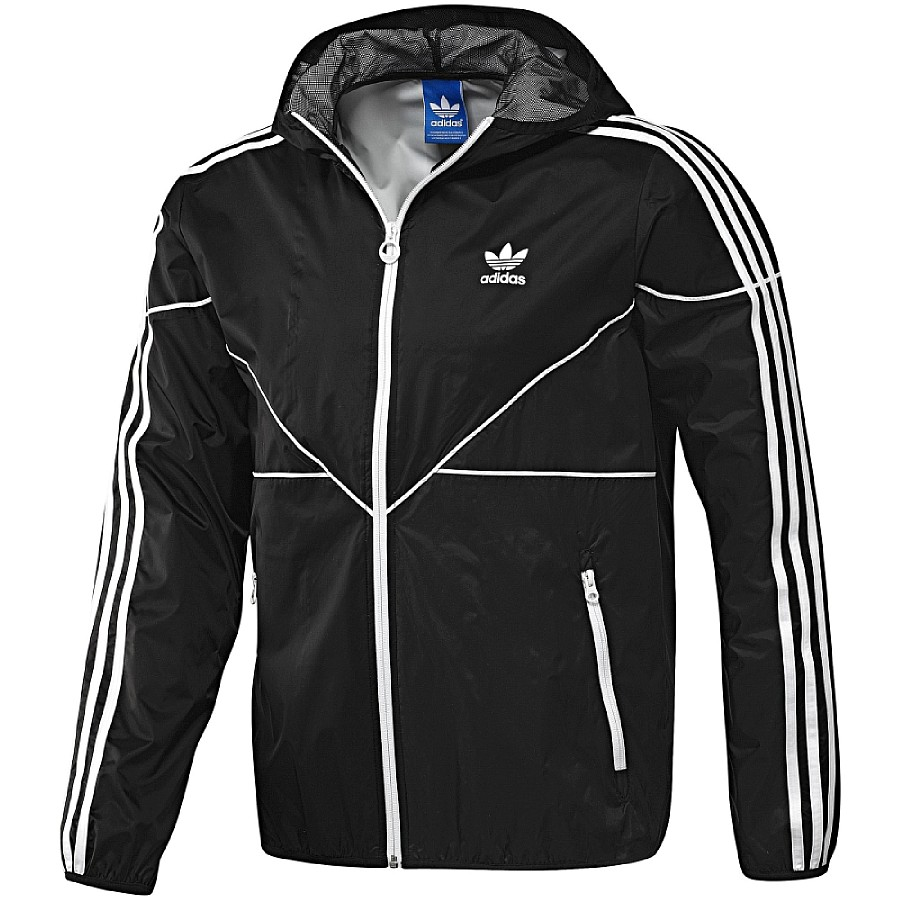 adidas originals colorado windbreaker schwarz herren jacke windjacke trendjacke. Black Bedroom Furniture Sets. Home Design Ideas