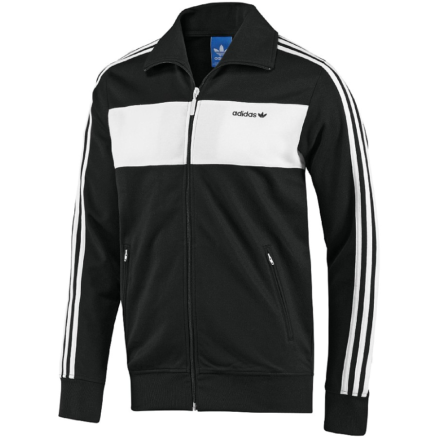 about adidas originals beckenbauer tt track top herren jacke schwarz. Black Bedroom Furniture Sets. Home Design Ideas