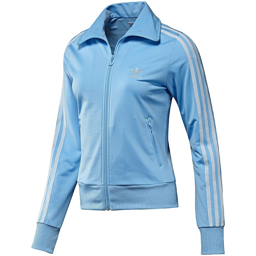 adidas originals firebird tt track top damen jacke blau. Black Bedroom Furniture Sets. Home Design Ideas