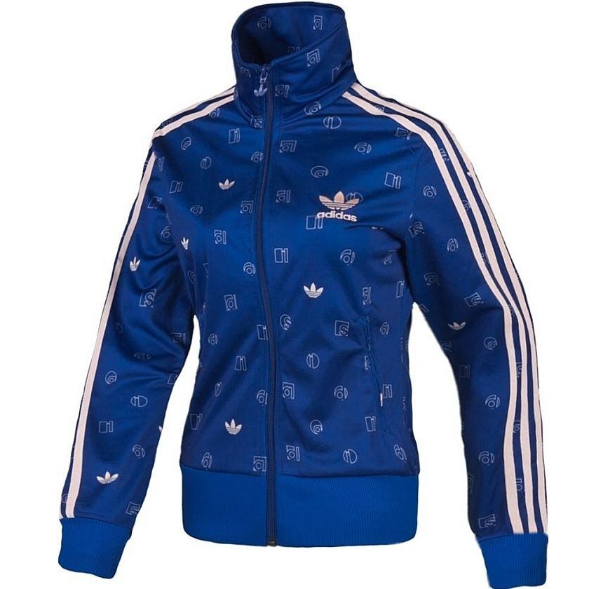 adidas originals firebird track top damen jacke blau ebay. Black Bedroom Furniture Sets. Home Design Ideas