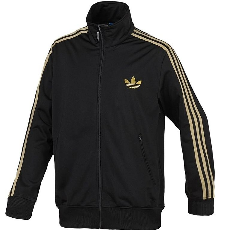 adidas originals firebird tt track top jacke herren schwarz gold. Black Bedroom Furniture Sets. Home Design Ideas
