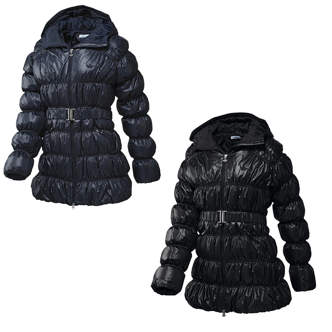 adidas long down jacket jacke winterjacke daunenjacke. Black Bedroom Furniture Sets. Home Design Ideas