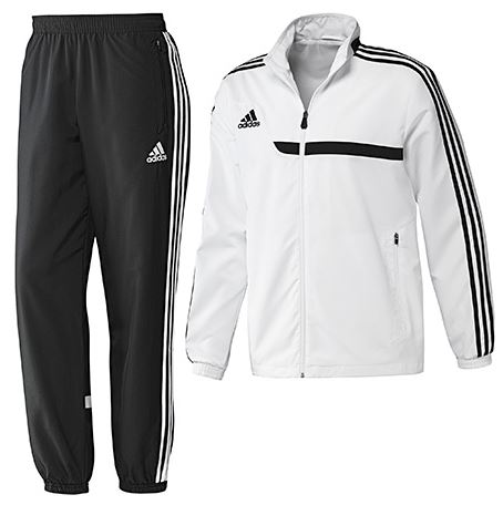 Adidas Trainingsanzug Schwarz Weiß. adidas ess 3s pes