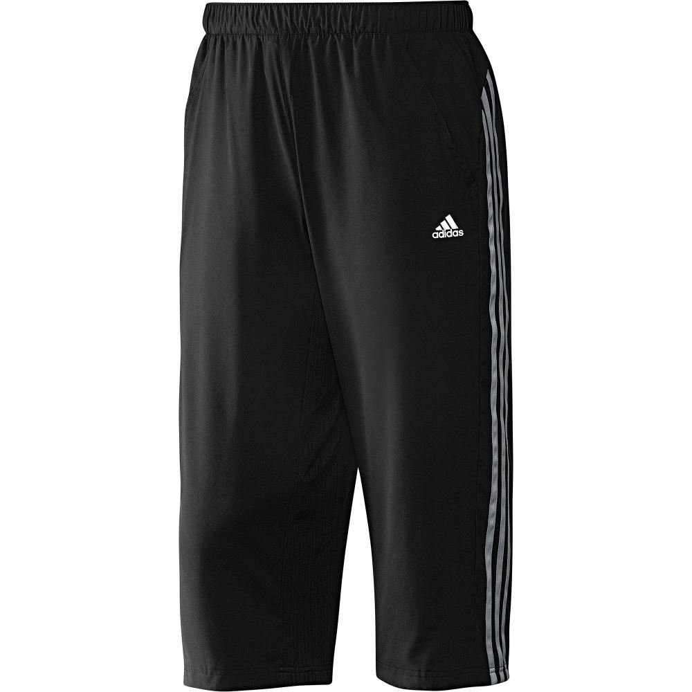 adidas clima365 3 4 woven pant herren hose schwarz. Black Bedroom Furniture Sets. Home Design Ideas