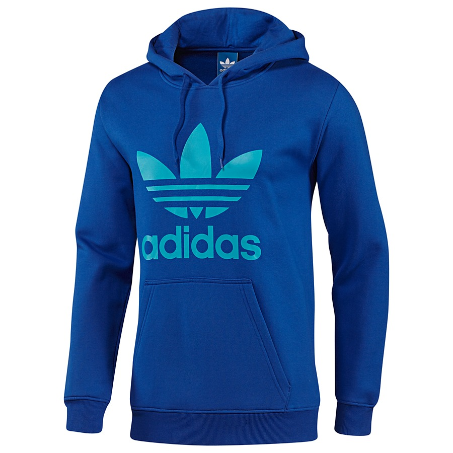 adidas originals trefoil hoodie sweatshirt kapuzenpullover herren diverse farben ebay. Black Bedroom Furniture Sets. Home Design Ideas