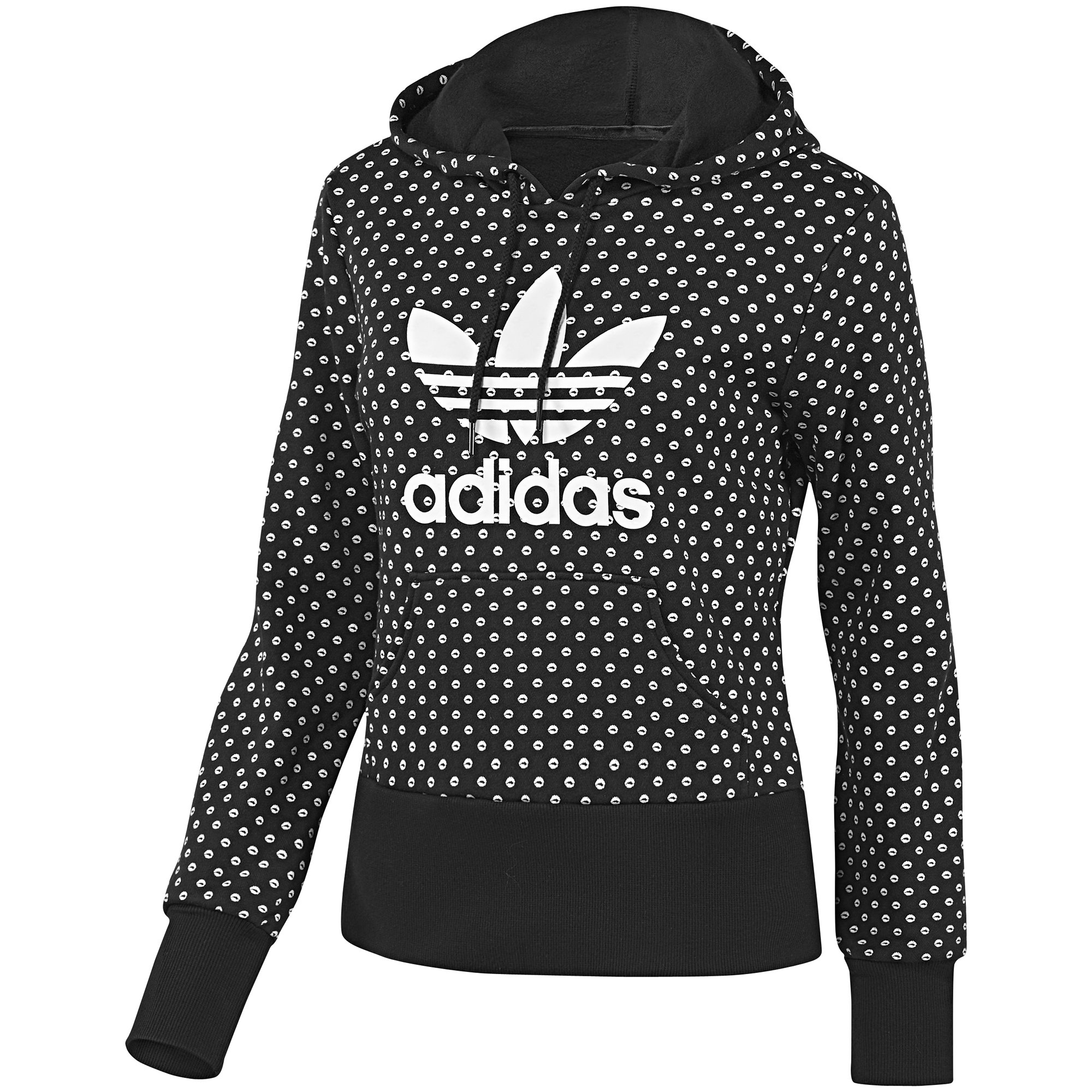 adidas originals trefoil hoodie pullover sweatshirt women various colours ebay. Black Bedroom Furniture Sets. Home Design Ideas