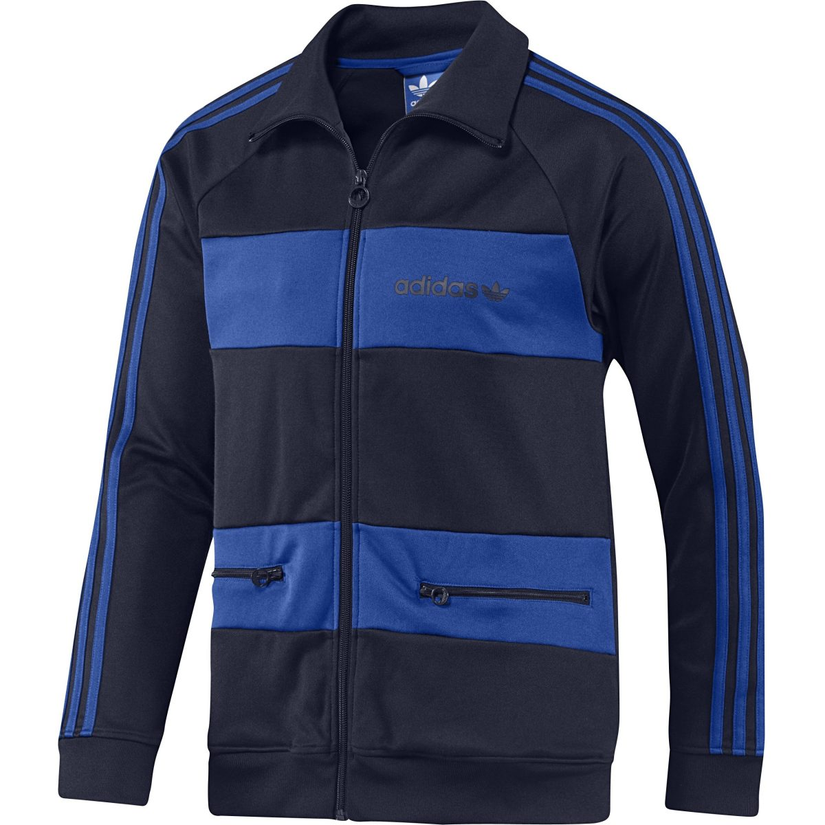 adidas originals beckenbauer track top wei blau herren. Black Bedroom Furniture Sets. Home Design Ideas