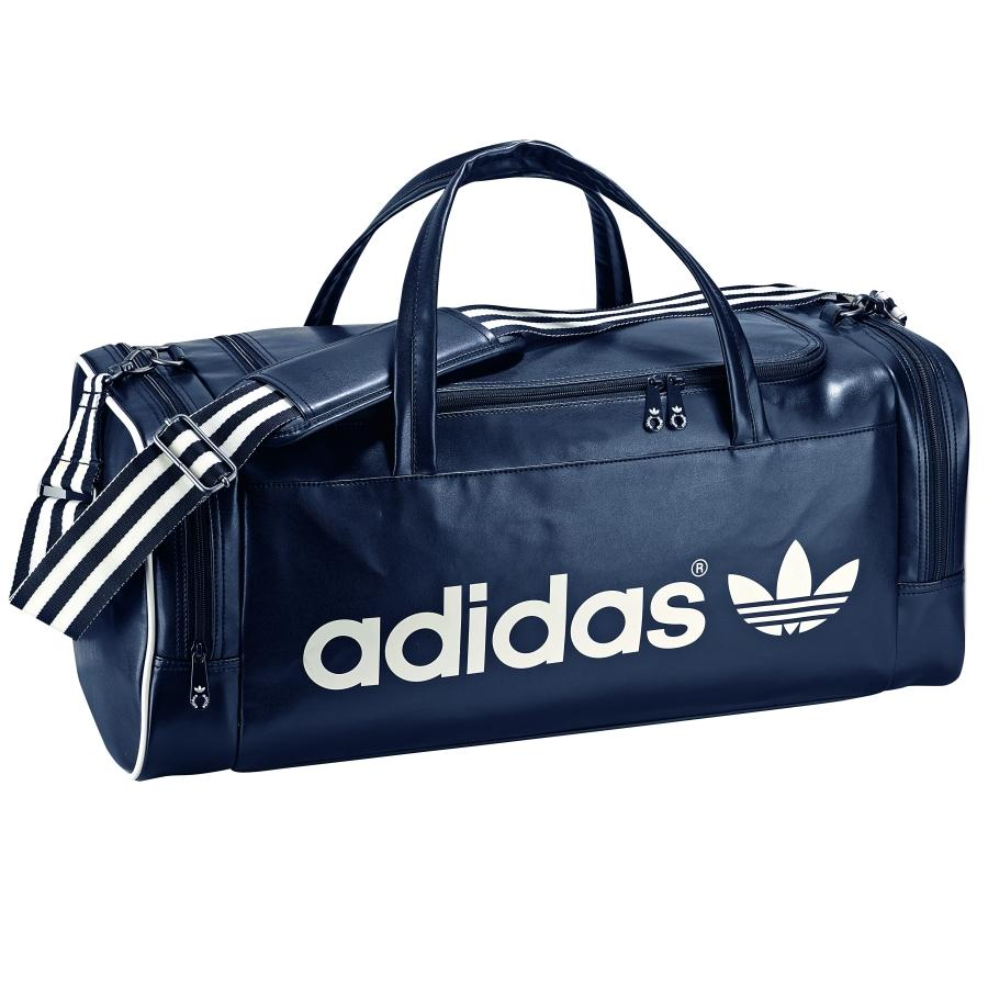 adidas adicolor teambag tasche reisetasche sporttasche schwarz blau ebay. Black Bedroom Furniture Sets. Home Design Ideas