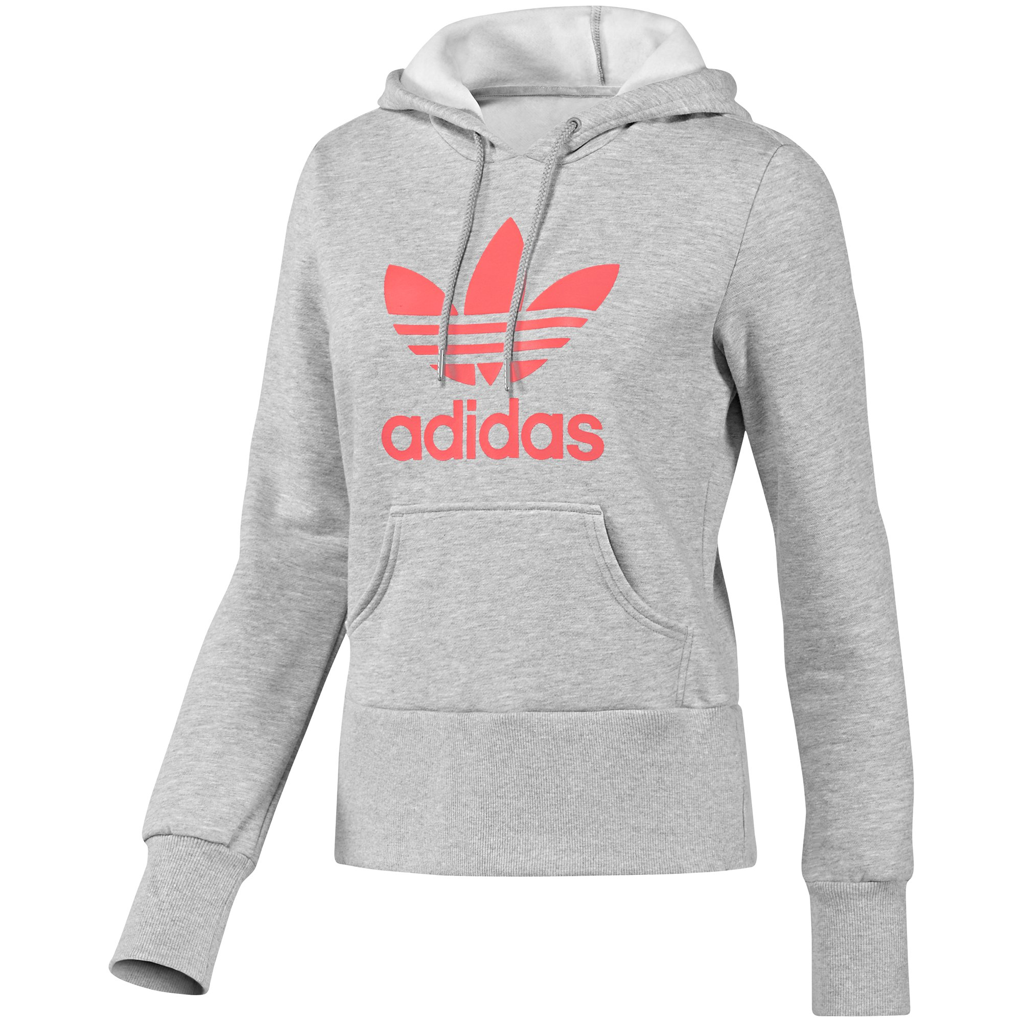 adidas trefoil hoodie w pullover sweatshirt. Black Bedroom Furniture Sets. Home Design Ideas