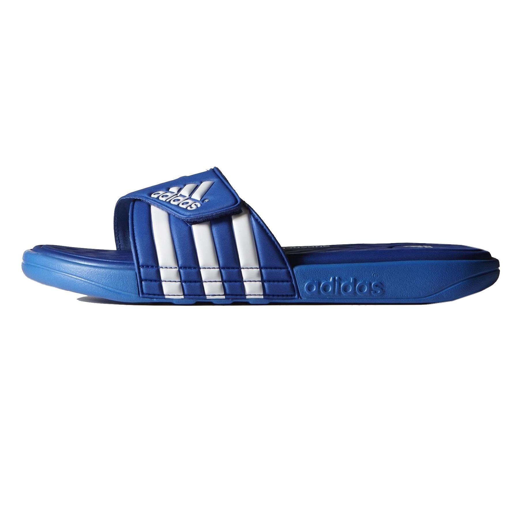 adidas adissage ultrafoam slipper badelatschen badeschuhe herren blau ebay. Black Bedroom Furniture Sets. Home Design Ideas