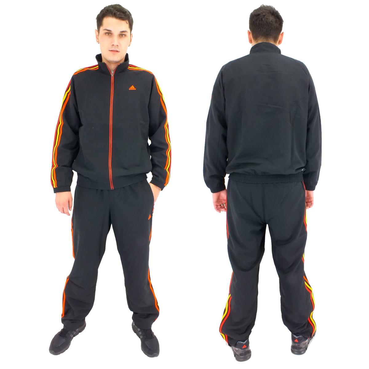 adidas ess 3s woven tracksuit m67792 jogginganzug. Black Bedroom Furniture Sets. Home Design Ideas