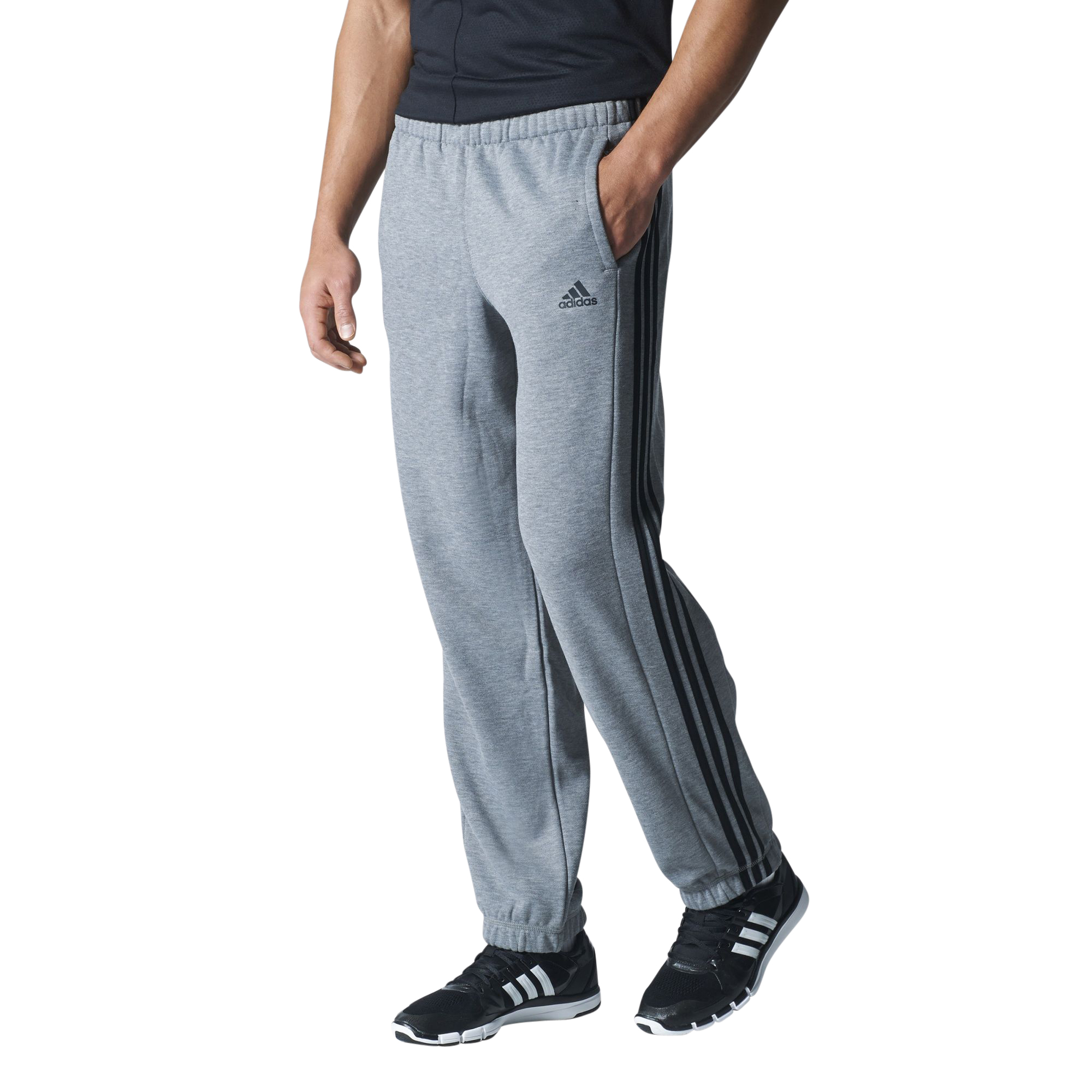 adidas essentials 3s pant ch fleece sporthose jogginghose. Black Bedroom Furniture Sets. Home Design Ideas