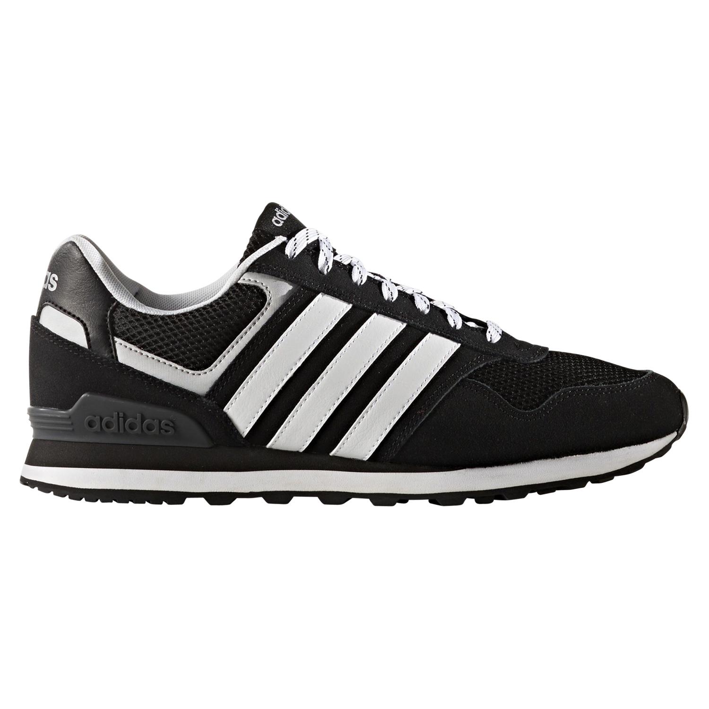 Adidas NEO 10K Schuhe Turnschuhe Sneaker Herren Schwarz