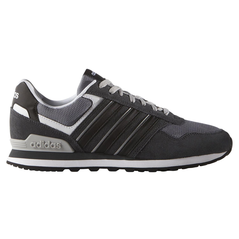 Adidas NEO 10K Schuhe Turnschuhe Sneaker Herren Grau
