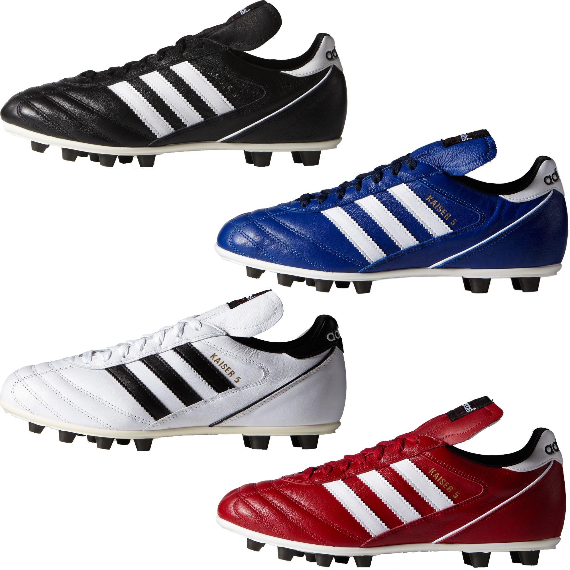 adidas kaiser 5 liga fg blau weiß sneakerdiscount