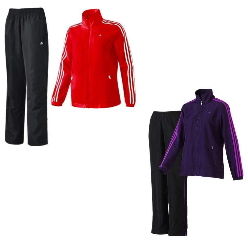 adidas essentials 3s woven suit trainingsanzug. Black Bedroom Furniture Sets. Home Design Ideas