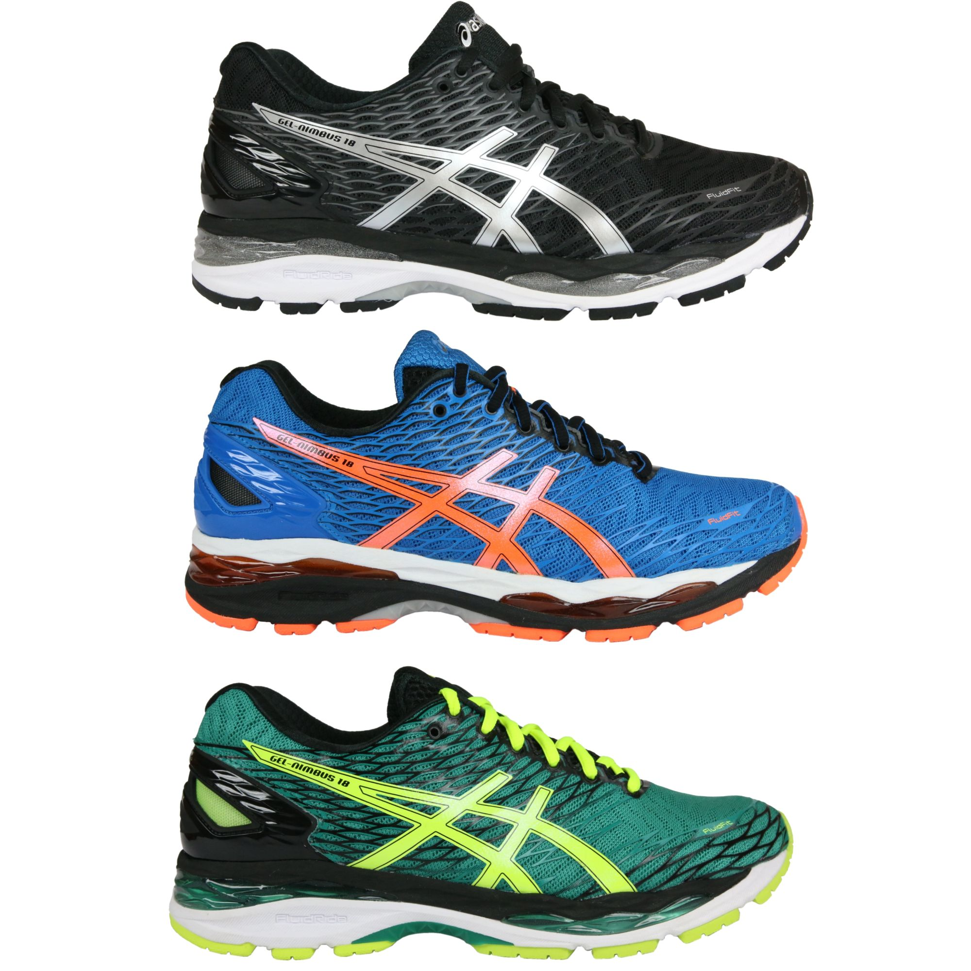 asics gel nimbus 18 schuhe laufschuhe joggingschuhe sportschuhe herren t600n ebay. Black Bedroom Furniture Sets. Home Design Ideas