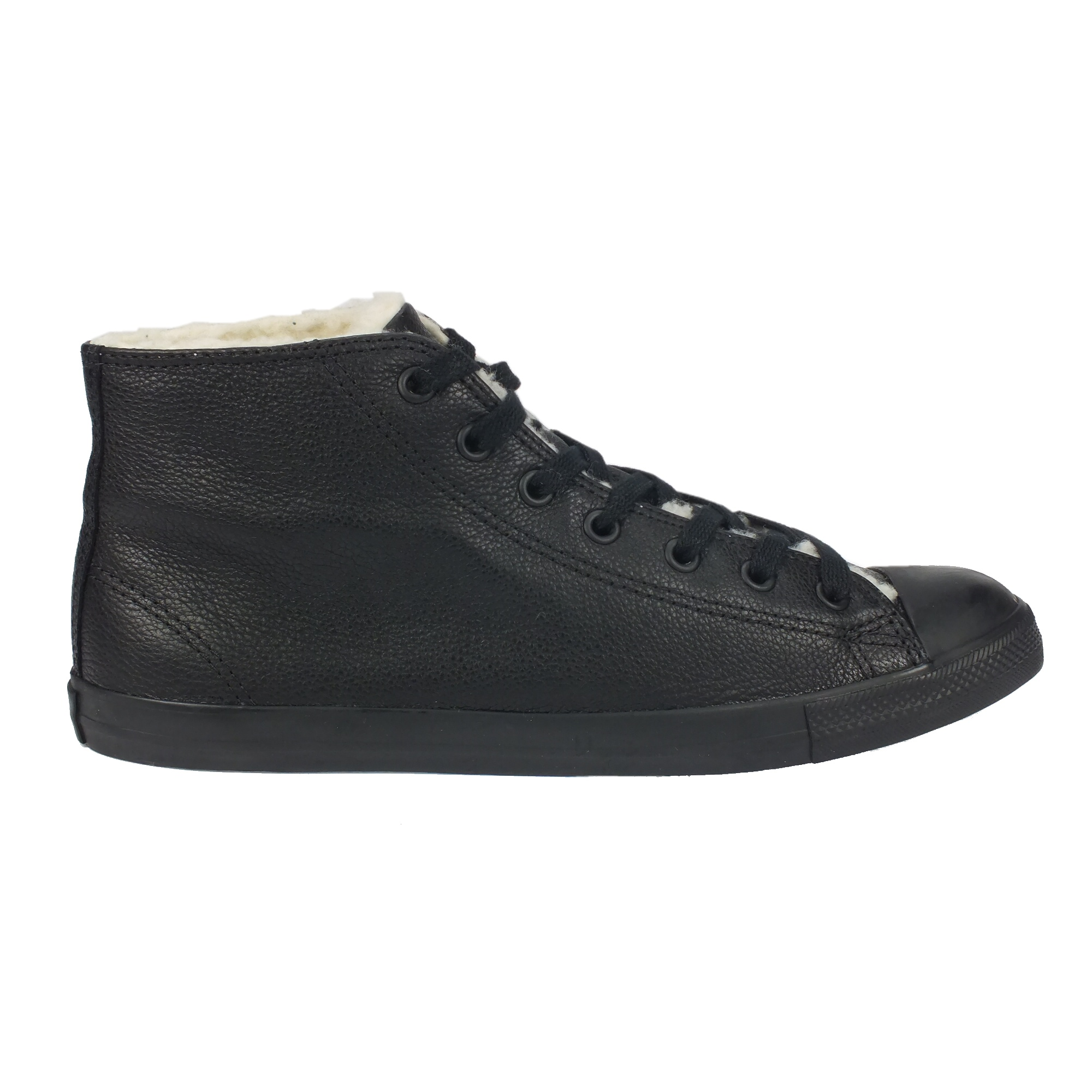 converse boot mid winter schuhe sneaker boots gef ttert damen herren leder ebay. Black Bedroom Furniture Sets. Home Design Ideas