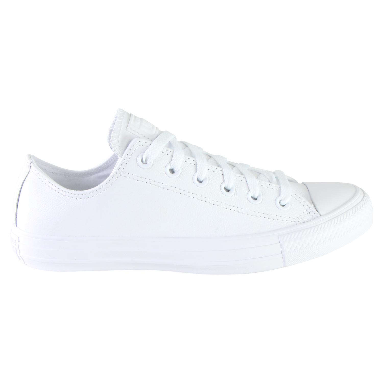 converse chucks all star core leather 136823c white. Black Bedroom Furniture Sets. Home Design Ideas