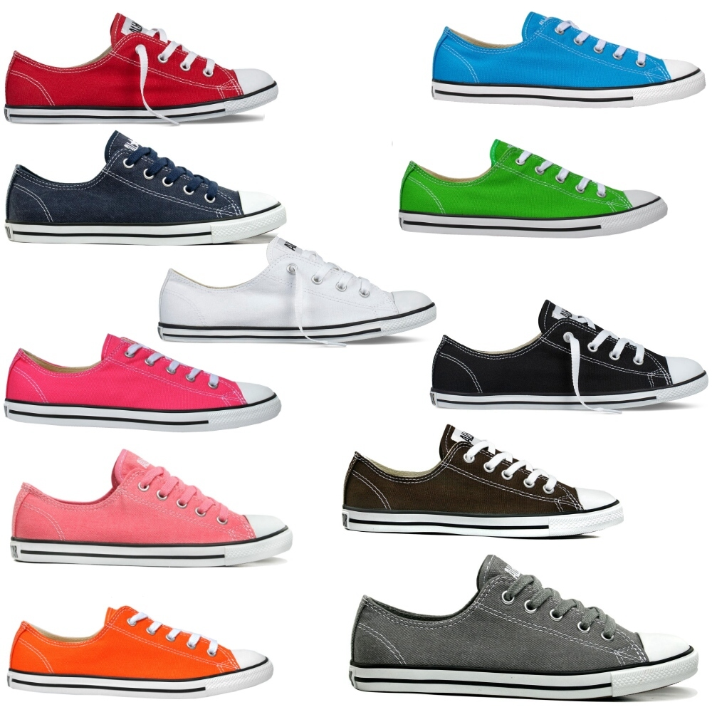 converse as dainty damen schuhe sommerschuhe turnschuhe canvas sneaker ebay. Black Bedroom Furniture Sets. Home Design Ideas