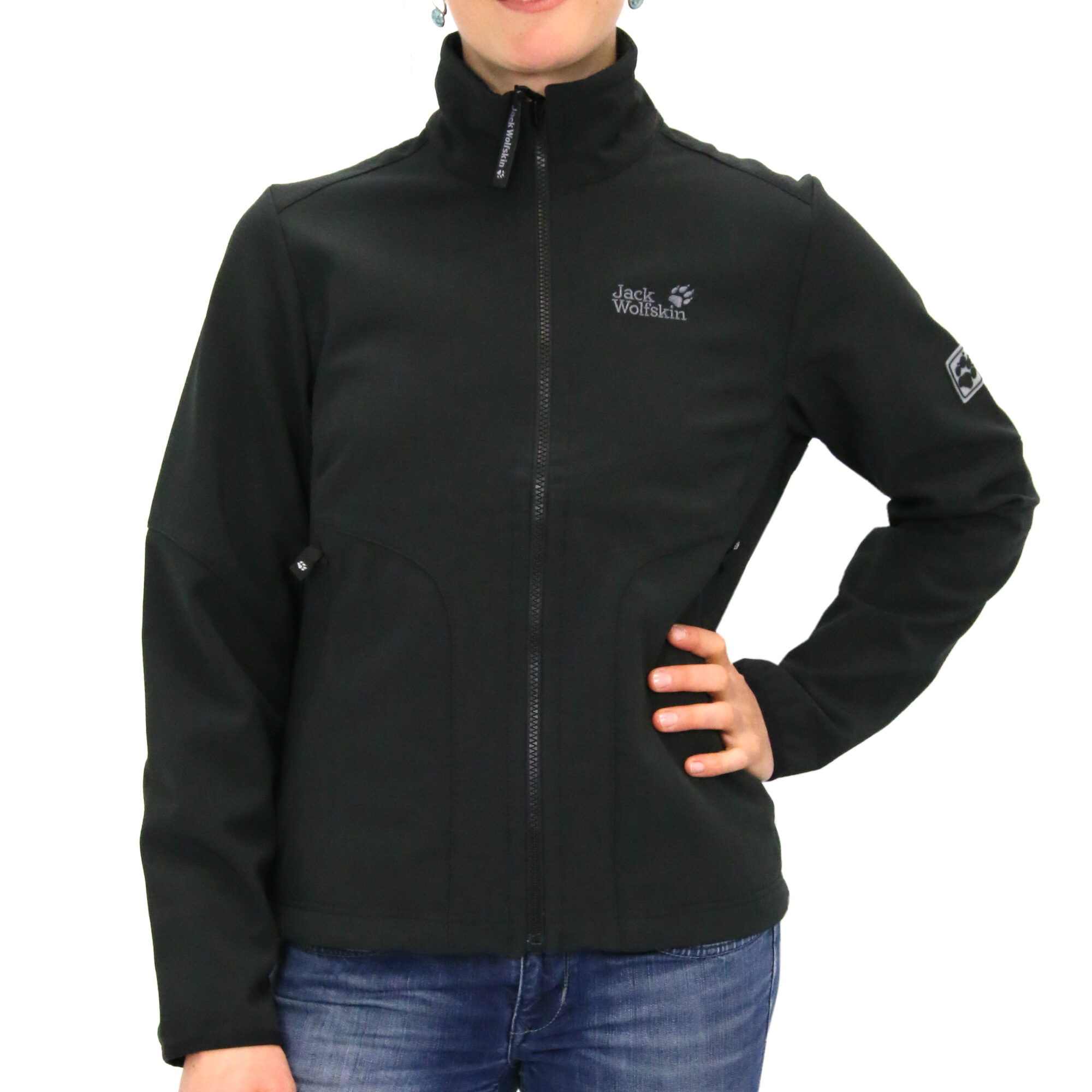 jack wolfskin hyperscope softshell jacket damen jacke. Black Bedroom Furniture Sets. Home Design Ideas