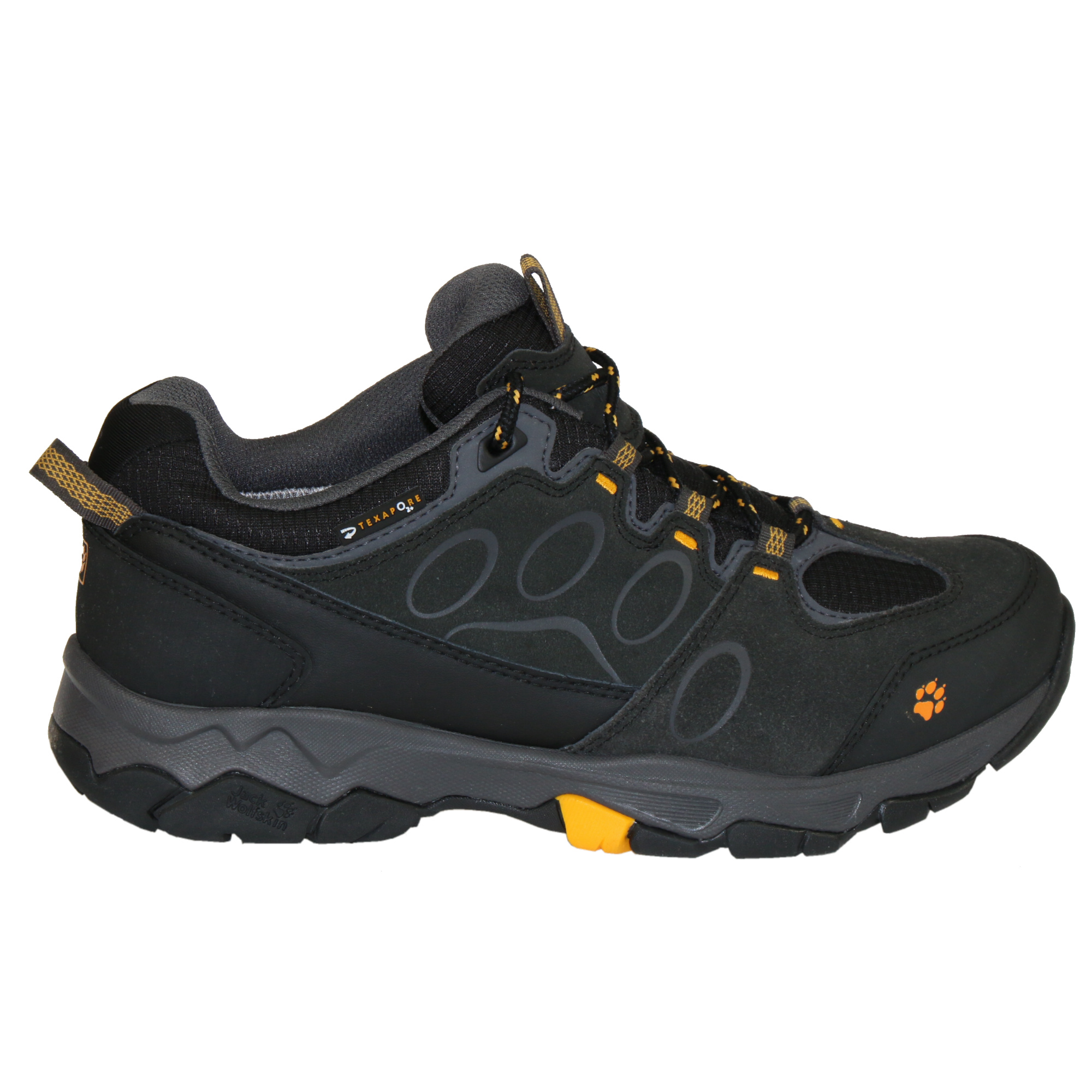 jack wolfskin mountain attack 5 low texapore shoes hiking shoes outdoor men 39 s ebay. Black Bedroom Furniture Sets. Home Design Ideas