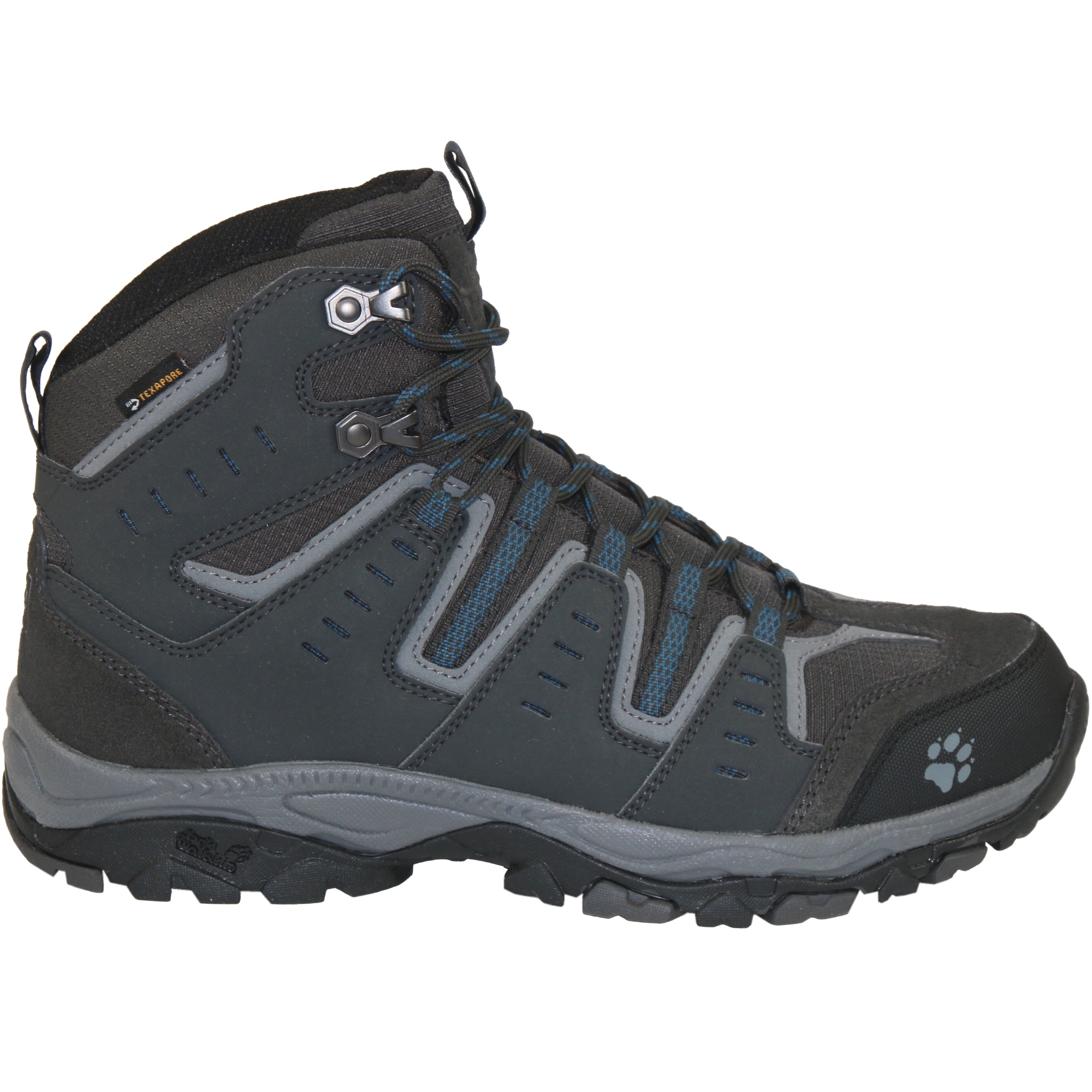 jack wolfskin mountain storm mid texapore shoes hiking boots outdoor men 39 s ebay. Black Bedroom Furniture Sets. Home Design Ideas