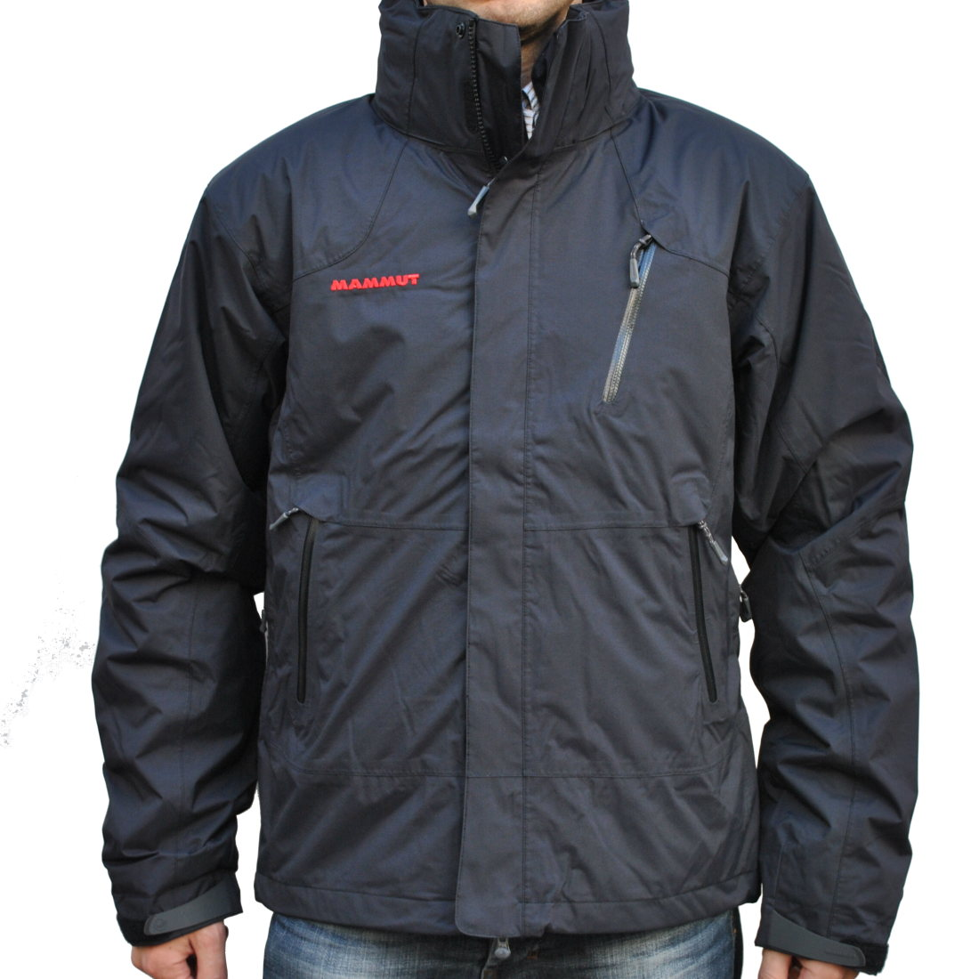 mammut kinabalu 4 s jacket men black herren jacke winterjacke outdoor ebay. Black Bedroom Furniture Sets. Home Design Ideas