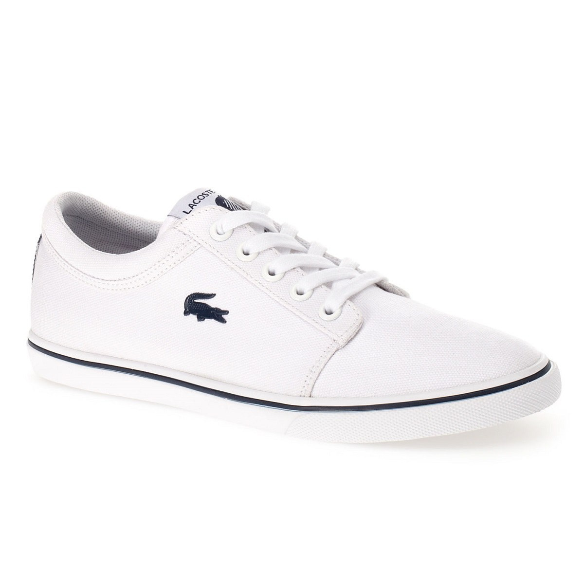 lacoste vaultstar sleek scr schuhe turnschuhe sneaker leinen damen ebay. Black Bedroom Furniture Sets. Home Design Ideas