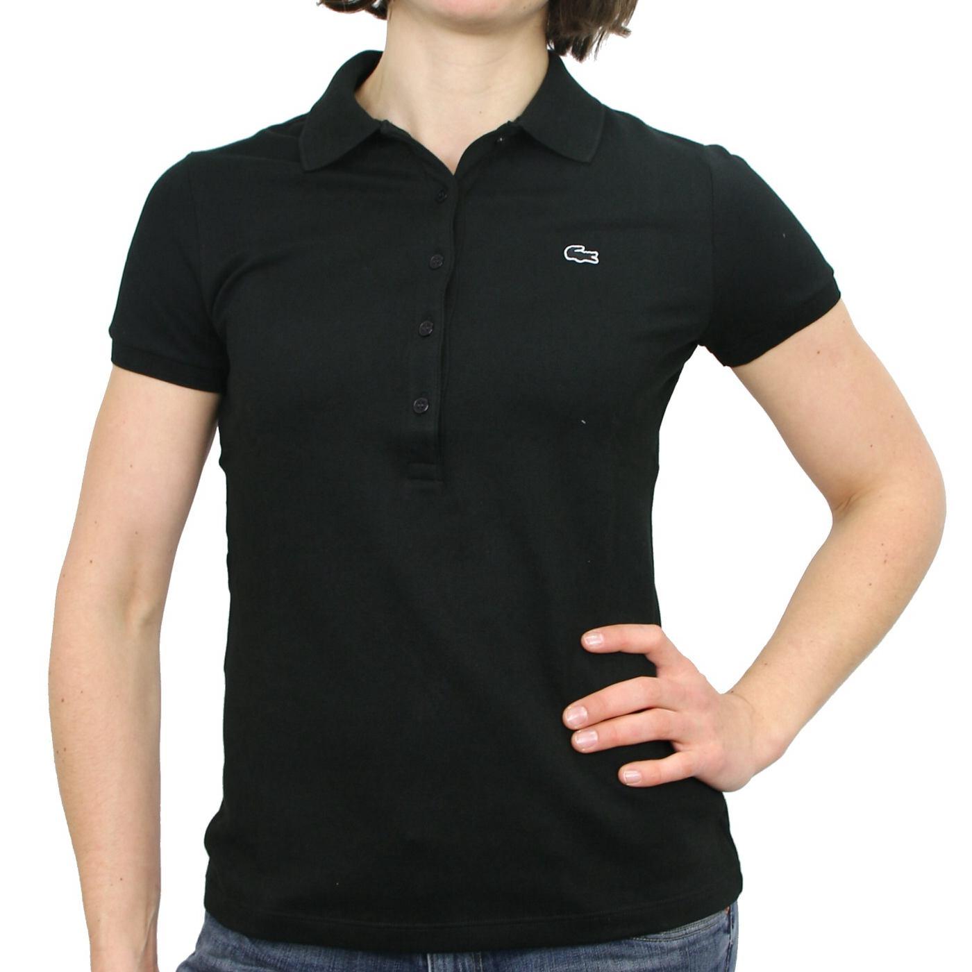 lacoste polo shirt polo t shirt baumwollstretch short. Black Bedroom Furniture Sets. Home Design Ideas