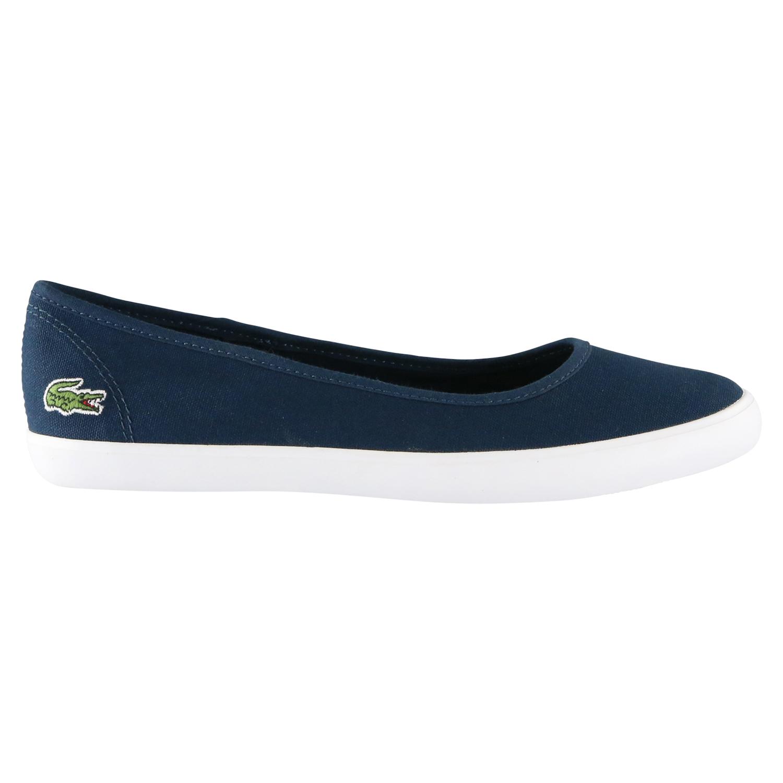 lacoste marthe bl 1 schuhe ballerinas slipper sneaker damen dunkelblau ebay. Black Bedroom Furniture Sets. Home Design Ideas